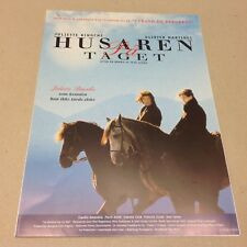 """Le hussard sur le toit"" Martinez Binoche 1995 Danish Movie Press Release Kit"