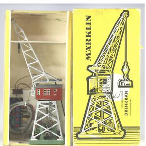 Märklin HO #7051 (451) Remote Control Crane, VG/BX, 1956 to 1978