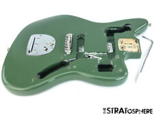 2018 Fender American Professional Jaguar BODY & HARDWARE USA Antique Olive!