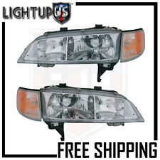 Headlights Headlamps Pair Left right set for 94-97 Honda Accord
