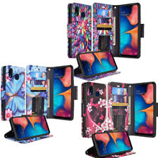 For Alcatel 3V Leather Wallet Case Credit Card Clasp Stand Phone Cover