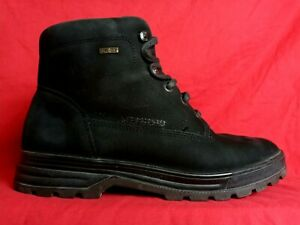 Goretex Mephisto Diva women size 10.5  Lace Up Walking Black Ankle Boots