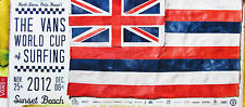 Mint Official World Cup Surfing Triple Crown Contest Sunset Hawaii Surf Poster