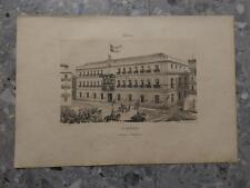 1862 Litografía Sevilla La Andalucia Audiencia Territorial