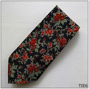 Barton Moda 100% Silk Made In Italy Men's Tie (Tie6)