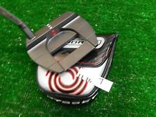 """Odyssey O-Works Black LE Jailbird Mini S Neck 37"""" Putter with Headcover Mint"""