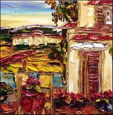 "Maya Eventov ""Untitled"" Original Acrylic on Canvas, H.Signed ME040908-07 16""X18"""