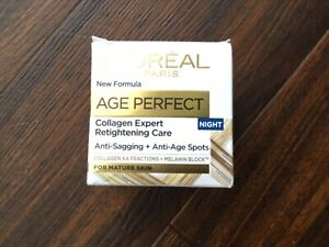 L'Oreal Age Perfect Re-Hydrating Night Cream 50ml for Mature Skin