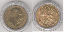 Médaille Française en bronze Florentin Charles De Gaulle 1980