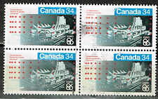Canada Architecture Vancouver Expo Pavilion stamps block 1986