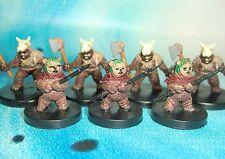 Star Wars Miniatures Lot  Ewok Scout Ewok Rebel Storm !!  s97