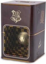OFFICIAL HARRY POTTER GOLDEN SNITCH MONEY BOX PIGGY BANK SAVINGS TIN NEW IN BOX
