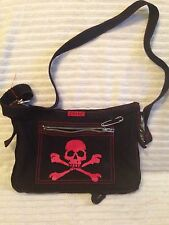 Tripp Skull Purse Large Safety Pen  with Corset Back.  Super Cute.