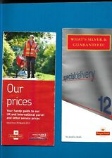 10 items of Royal Mail publicity and official postal items
