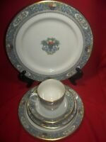 Lenox China Autumn 5 Piece Place Setting New Cup Gold Backstamp