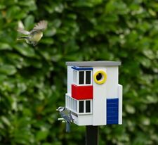 Wildlife Garden Birdhouse and Feeder