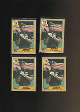 1987 Topps #184 Bobby Bonilla Pittsburgh Pirates RC Lot of 4