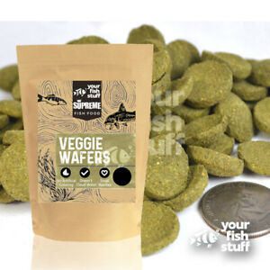 Spirulina Veggie Algae Wafers Pleco Catfish Tropical Bulk Fish Food 1/4LB YFS