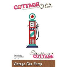 Vintage Gas Pump Craft Steel Die Cutting Dies Cottage Cutz CC-480 New