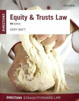 Equity & Trusts Law Directions by Gary Watt 9780198804703 | Brand New
