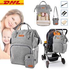 Baby Wickelrucksack Set - Wickeltasche Windelrucksack Babytasche für Mama & Papa
