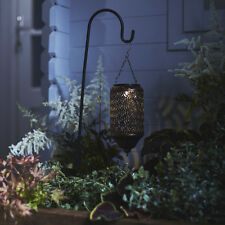 Solar Powered Moroccan LED Lantern Light With Shepherd's Hook by Lights4fun