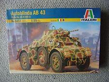 Italeri 1/35 Autoblinda AB.43/PzsPwG AB.43 203(I)