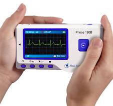 sanador Fuerza PRINCE 180b DE MANO facil ECG EKG portátil corazones Monitor