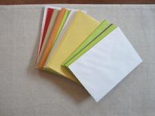 "Lot of 75 Hallmark Greeting Card Envelopes 5"" X 7 1/8"" Multi Color Assortment"