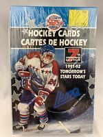 1991/92 7TH INNING SKETCH QMJL TOMORROW'S STARS TODAY HOCKEY BOX SEALED