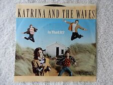 "Katrina And The Waves ""Is That It?/I Really Taught Me How To Watusi"" PS 45"