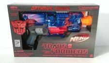 Transformers Nerf Optimus Prime Barricade RV-10 Blaster SDCC 2011 Exclusive IDW