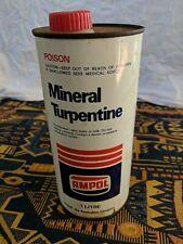 AMPOL Mineral Terpentine Tin