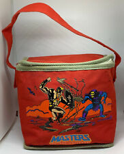 Masters of the Universe HE-MAN vintage LUNCH TOTE 1984 Mattel MOTU