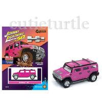 Johnny Lightning Hummer H2 1:64 Diecast Model Car Pink JLCP7210