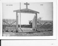 1945 WWII US  Okinawa  Photo International Cemetery