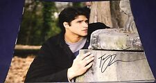 Tyler Posey Teen Wolf Actor Hand Signed 11x14 Autographed Photo Authentic Proof