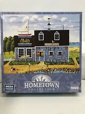 Mega Puzzles Hometown Collection 1000 Piece Puzzle Wheels & Keels Bikes & Boats