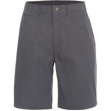 Trespass Mens Atom Woven Cotton Longer Length Striped Casual Shorts