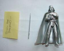 Star Wars SAGA SILVER Ann. Darth Vader 2004  figure  exclusive clean  416