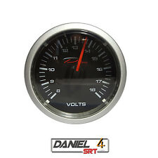 Depo Racing Electric 52mm Volt Meter Gauge Transparent Lens (Super White LED)