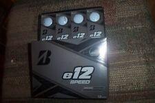 2 dozen Brand New 2019 Bridgestone E12 Speed golf balls white