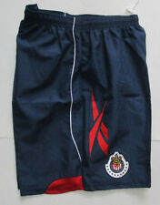 Men's Reebok Chivas Guadalajara Home Short, New Navy Blue R Sport Soccer Short L
