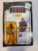 Weequay Unpunched - Star Wars Return of the Jedi 1983 Vintage Kenner - READ DES!
