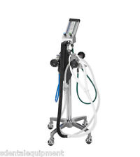 Belmed Flowmeter System - 4 Cyl.(5142-S) with Mobile Stand & Rubber Goods