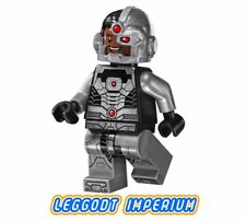 LEGO Minifigure - Cyborg black gloves - Justice League DC sh155 FREE POST