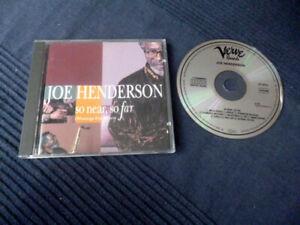 CD Joe Henderson So Near Far (Musings For Miles Davis) Scofield Holland Foster