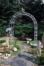 Rosenbogen Spalier Rankhilfe massiv Stahl feuerverzinkt 140 x 34 x 235 cm