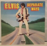 "VTG Elvis Presley ""Separate Ways"" 1972 Vinyl LP Record Album CAS-2611 RCA +VG"