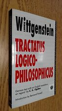 Tractatus Logico-Philosophicus: German and English by Ludwig Wittgenstein 2000